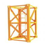 venta caliente zoomlion proveedor de china mobile tower grua mast section